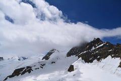 Schweizer Mountain View Stockfoto