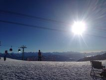 Schweizer Mounten Stockfotos