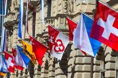 Schweizer Nationaltag in Zürich Lizenzfreies Stockbild