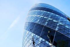 Schweizer Rück ragen, Essiggurke, London hoch Stockbilder
