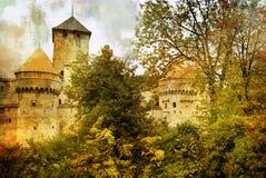 Schweizer Schloss Stockfotos