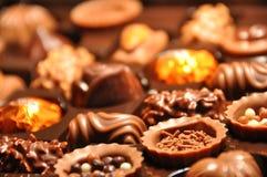 Schweizer Schokolade stockbild