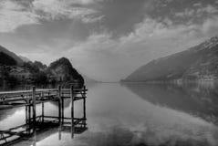 Schweizer See lizenzfreie stockfotografie