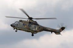 Schweizer Superpumahubschrauber T-314 Luftwaffe Aerospatiale TH89 Stockfotos