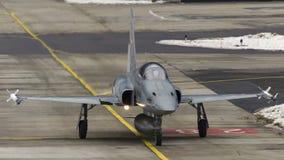 Schweizer Tiger der Luftwaffen-F-5E Lizenzfreie Stockfotos