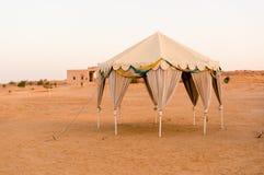 Schweizer Zelte in der Wüste in Summe jaisalmer Rajasthan stockfoto