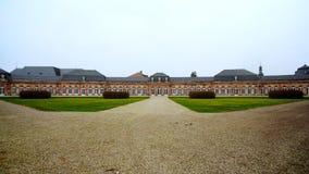 Schweizingen宫殿的全景在德国 图库摄影