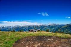 Schweizisk Alpsliggande Arkivbilder