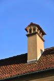Schweizisk arkitektonisk stil Arkivbild