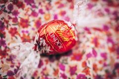 Schweizisk choklad Arkivfoton