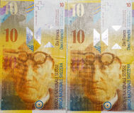 Schweizisk Franc arkivfoto