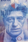 Schweizisk francanmärkning arkivfoto