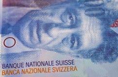 Schweizisk francanmärkning arkivbilder