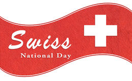 Schweizisk nationell dag Royaltyfria Foton