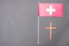 Schweizisk religion Arkivbilder