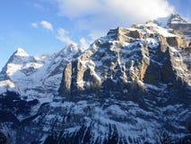 schweiziska alps Royaltyfria Bilder