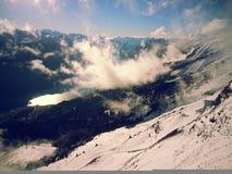 schweiziska alps Nära Interlaken Royaltyfri Foto