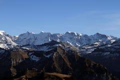 Schweiziska alps Arkivbild