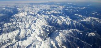 Schweiziska berg Arkivfoto