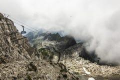 Schweiziska fjällängar Royaltyfri Bild
