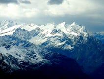 Schweiziska fjällängar Royaltyfri Foto