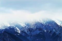 Schweiziska fjällängar, landskap Fotografering för Bildbyråer