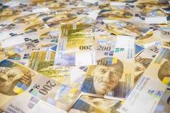 Schweiziska pengar royaltyfri bild