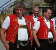 schweiziska yodelers Royaltyfria Foton