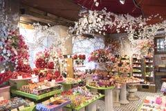 Schweiziskt chokladlager royaltyfri bild