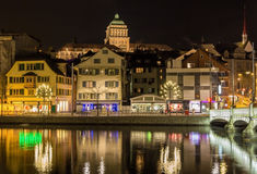Schweiziskt federalt institut av teknologi i Zurich Arkivfoto