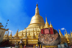 Schwemawdaw Paya - Bago, Myanmar Royalty Free Stock Photo