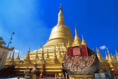 Schwemawdaw Paya - Bago, Myanmar Royalty Free Stock Photo