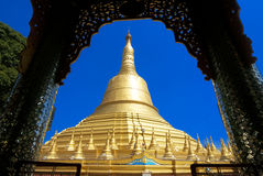 Schwemawdaw Paya - Bago, Myanmar Royalty Free Stock Photos