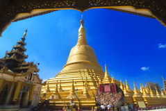 Schwemawdaw Paya - Bago, Myanmar Royalty Free Stock Photos