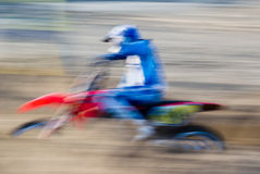 Schwenken, Motorcross lizenzfreie stockfotografie