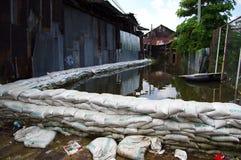 Schwere Überschwemmung Lizenzfreie Stockfotos