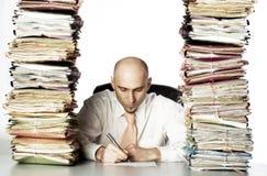 Schwere Arbeitsbelastung Lizenzfreies Stockbild