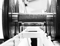 Schwere Gewichte Lizenzfreie Stockfotos