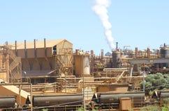 Schwere Industrieanlage Stockbild