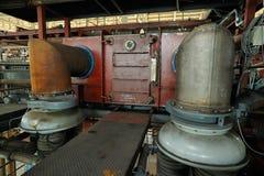 Schwere industrielle Ausrüstung Stockbilder