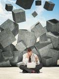 Schwere Probleme Lizenzfreies Stockfoto
