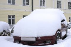 Schwere Schneefälle Lizenzfreie Stockfotos