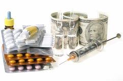 Schwere Unkosten der Behandlung lizenzfreie stockbilder