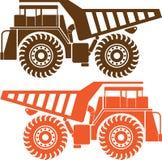 Schwerer Bergbau-LKW Stockfotos