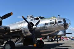 Schwerer Bomber B-17G Fliegender Festung lizenzfreies stockbild