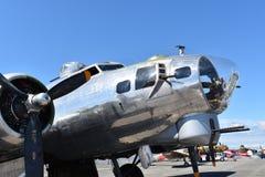 Schwerer Bomber B-17G Fliegender Festung lizenzfreie stockfotos