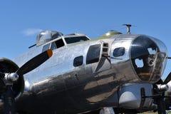 Schwerer Bomber B-17G Fliegender Festung lizenzfreie stockbilder