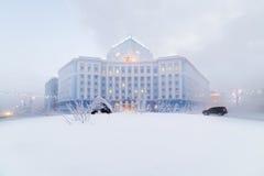 Schwerer Frost in Norilsk