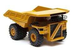 Schwerer LKW des Spielzeugs lizenzfreies stockfoto
