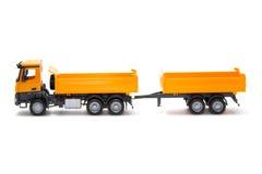 Schwerer LKW des Spielzeugs Lizenzfreie Stockfotos